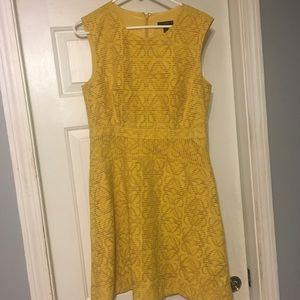 J.Crew Yellow Dress size 8